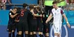 קרואטיה סיימה ראשונה אחרי 1:2 עם איסלנד