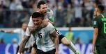 בדקה ה-86: רוחו העלה את ארגנטינה לשמינית
