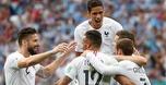 צרפת עלתה לחצי הגמר עם 0:2 על אורוגוואי
