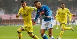 נעצרה במרדף: 0:0 מאכזב לנאפולי מול קייבו