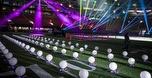 150 רחפנים האירו את אצטדיון הסופרבול
