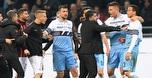 צפו: תגרה מכוערת בין שחקני מילאן ולאציו