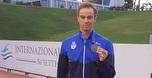 מדליית כסף ליעקב טומרקין ב-100 מטר גב ברומא