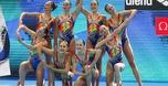 נבחרת השחייה האמנותית בגמר אליפות העולם