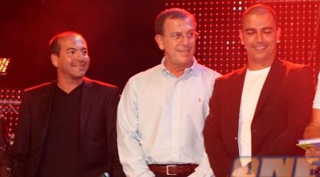 רביבו וברקוביץ' כיכבו בנבחרת ה- 60