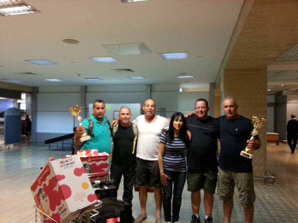 קלעי הירי מעשי זכו במקומות הראשונים באליפות הבלקן