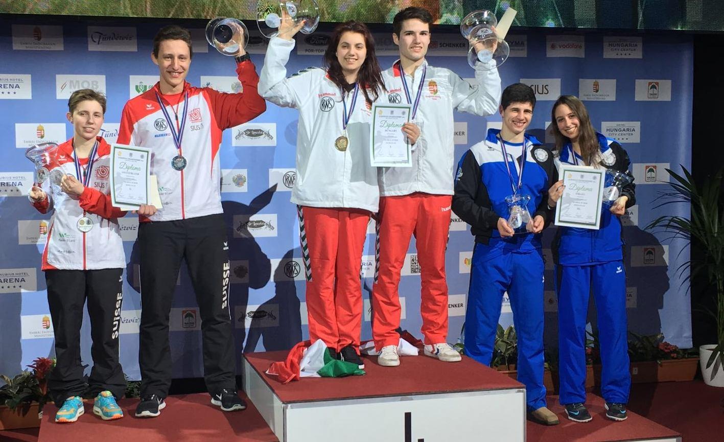 מדליית ארד לישראל באליפות אירופה 2016
