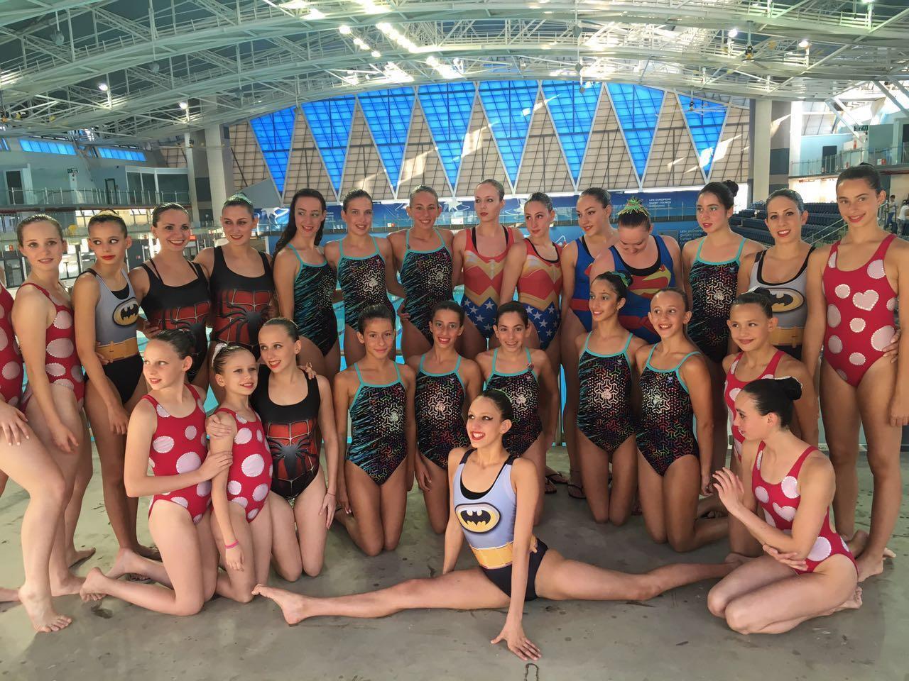 אליפות ישראל בשחייה אומנותית