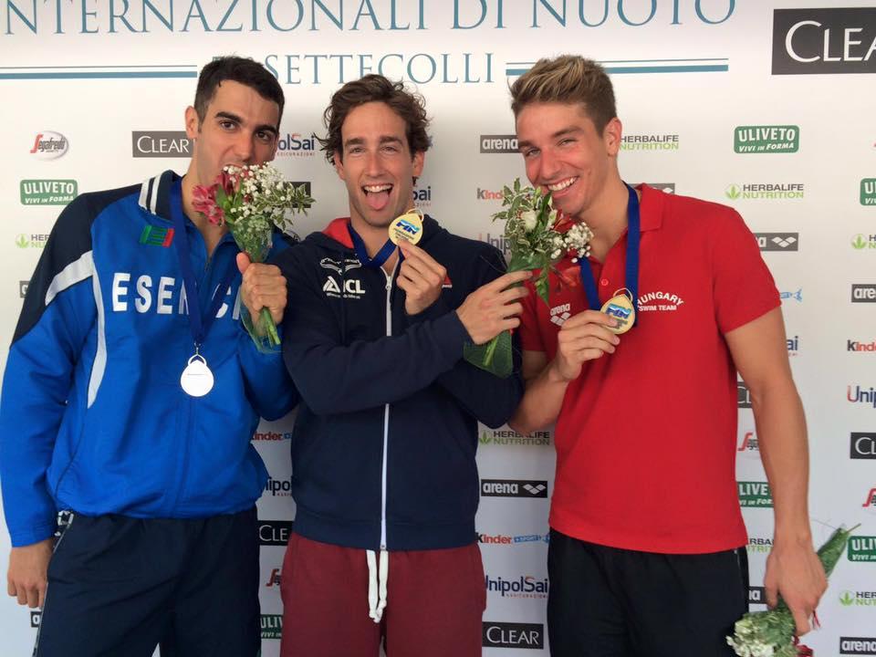 מדליית זהב לגיא ברנע ברומא
