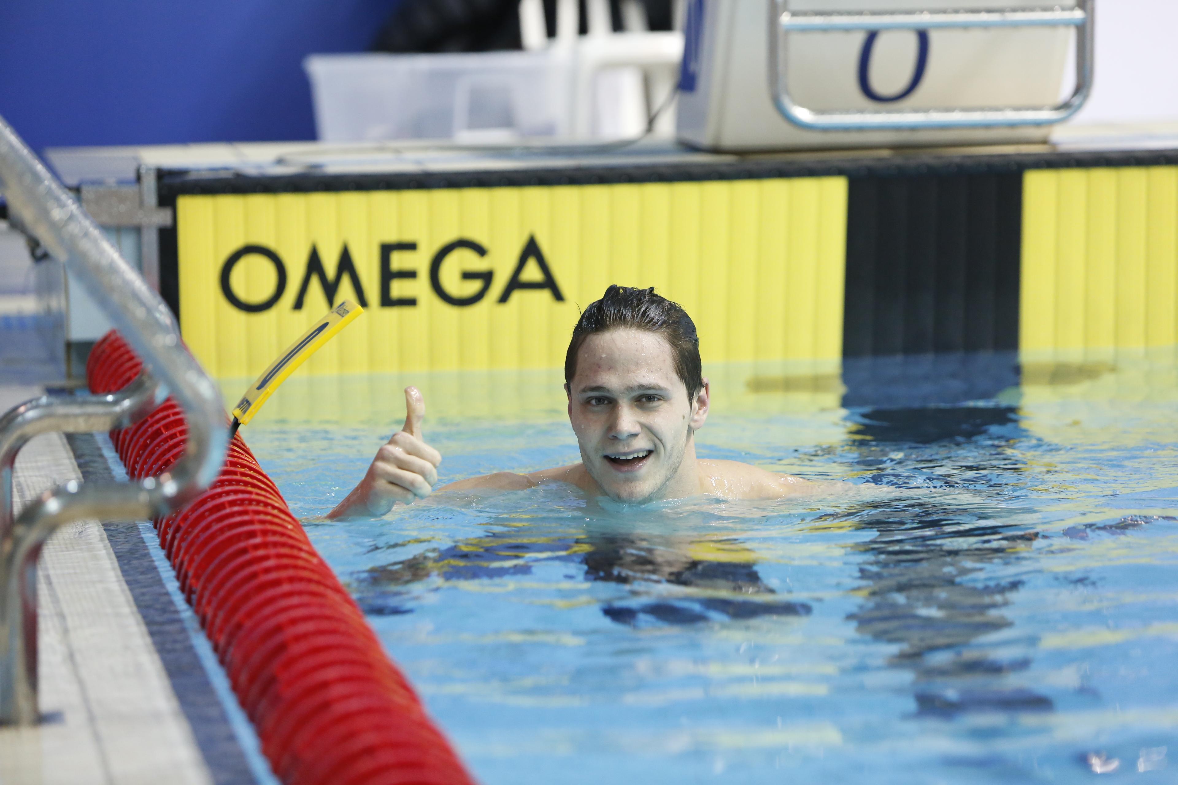 דוד גמבורג רחוק ב-2 מאיות השנייה מהקריטריון האולימפי