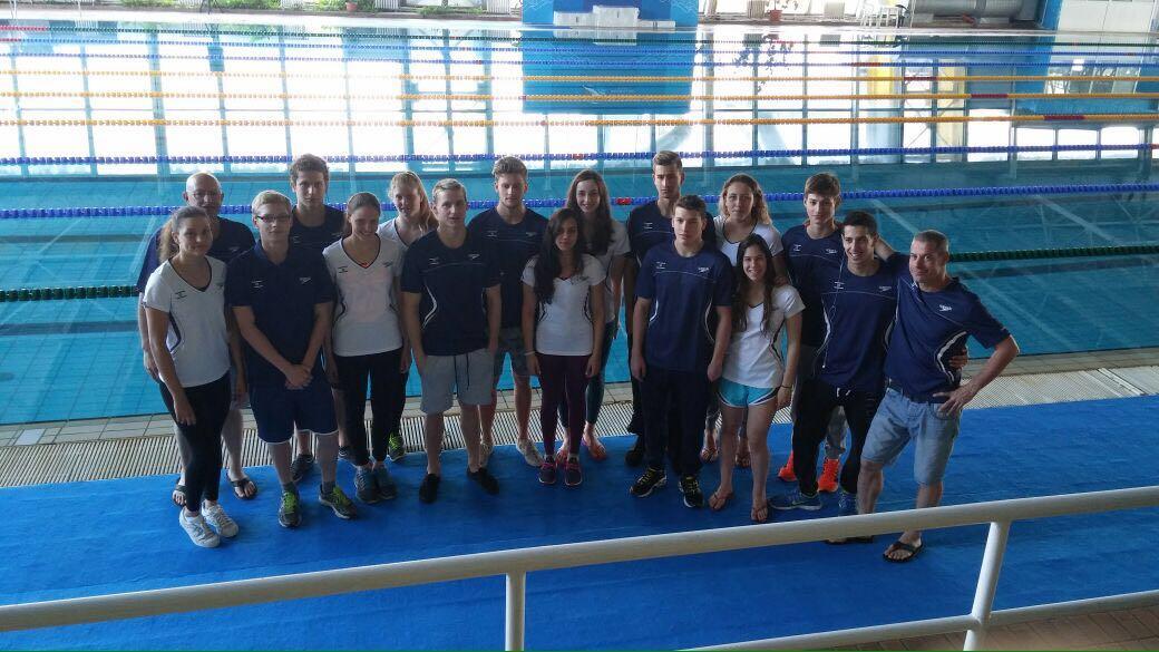 נבחרת הנוער של ישראל בדרך להונגריה !!