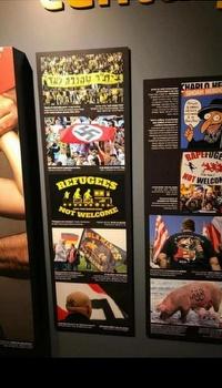 תמונת האוהדים בתערוכה (הפייסבוק של הצל)