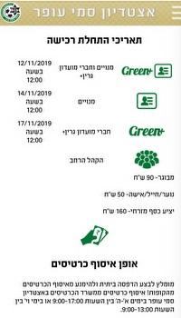 מחירי הכרטיסים למשחק (צילום מסך)