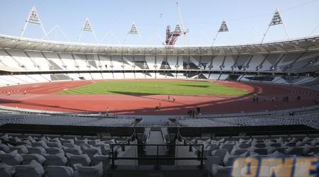 מבט מתוך אצטדיון האתלטיקה בלונדון (רויטרס)
