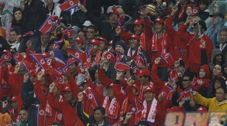 הקומץ של צפון קוריאה. הם סינים בכלל (רויטרס)