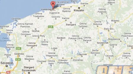 """העיר הצפונית קולובז'ג. """"אין הרבה מה לעשות כאן"""" (צילום מסך, Google Maps)"""