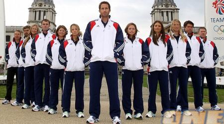 השייט הכי טוב במדינה החזקה בעולם. איינסלי והנבחרת הבריטית (GettyImages)