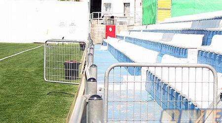 היציעים באצטדיון המחודש (ליאור טימור)