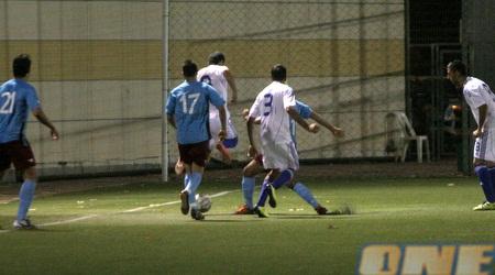 שחקני הפועל יהוד מול שחקני הנבחרת הצעירה (חגי ניזרי)