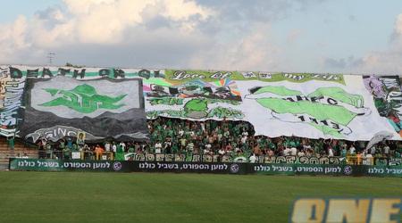אוהדי מכבי חיפה במיטבם (עמית מצפה)