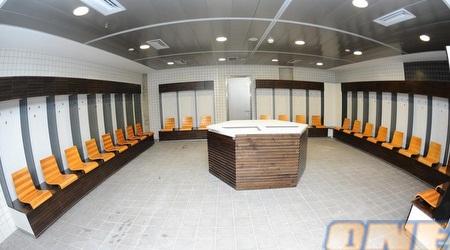 חדר ההלבשה החדש באצטדיון נתניה (האתר הרשמי)