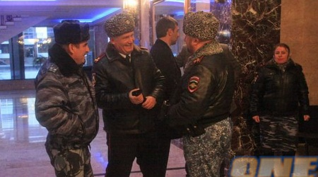 האבטחה הכבדה בגרוזני (האתר הרשמי)