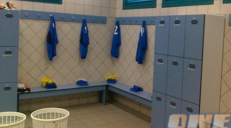חדר ההלבשה באצטדיון בעפולה