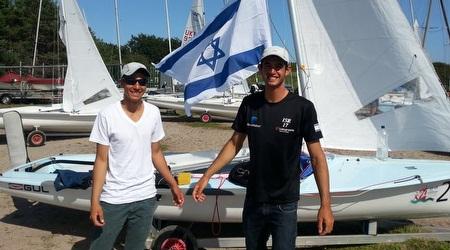 כהן ופרויליך. יייצגו את ישראל באליפות אירופה הפתוחה במפרשיות 470