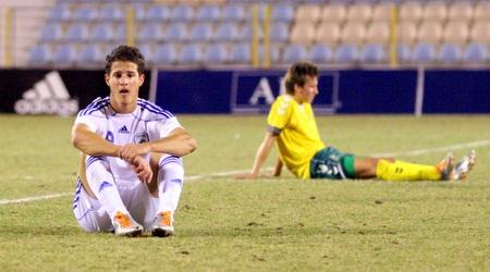 שחר הירש במדי נבחרת הנוער של ישראל (יניב גונן)