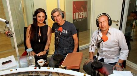 גולדהאר עם אופירה אסייג ואיל ברקוביץ´ בראיון (שי לוי)