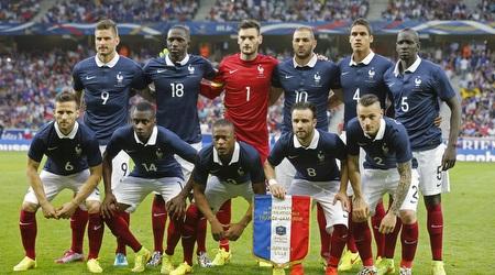 נבחרת צרפת. הצגה לפני ברזיל (רויטרס)
