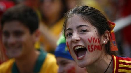 אוהדת ספרד (רויטרס)