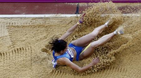 חנה קנייזבה-מיננקו. סיימה רביעית בלונדון (רויטרס)