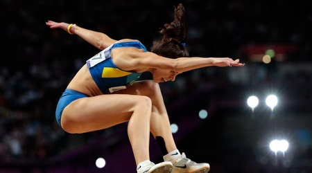 חנה קנייזבה-מיננקו. קיבלה תמיכה אחרי אליפות ישראל