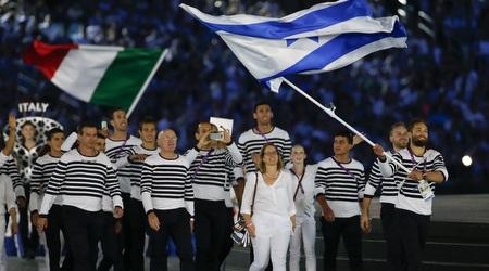המשלחת הישראלית באולימפיאדת ריו (רויטרס)