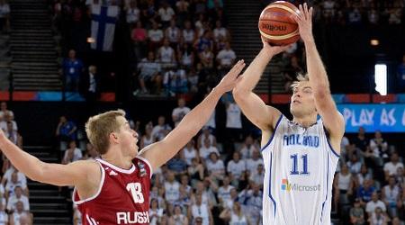 פטרי קופונן. ניצח את המשחק עבור הפינים (FIBA)
