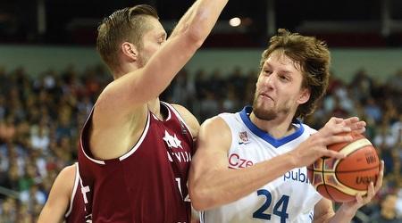 יאן וסלי. משחק נהדר שלו לא הצליח למנוע מהצ´כים הפסד (FIBA)