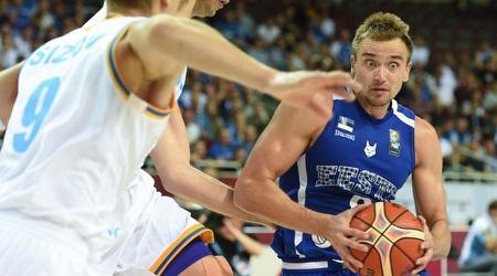 גרגור ארבט. ניצחון ראשון לאסטוניה בטורניר (FIBA)