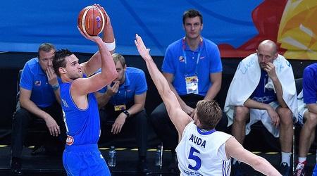 דנילו גלינארי. האיטלקים יופיעו בטורניר הקדם אולימפי (FIBA)