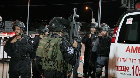 כוחות אבטחה באצטדיון דוחא (משה חרמון)