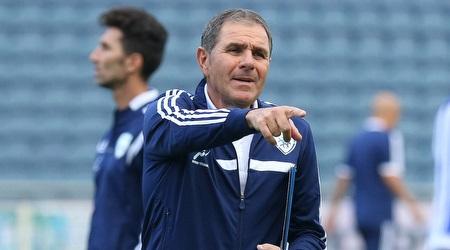 אלי גוטמן בתקופתו כמאמן נבחרת ישראל (רדאד ג'בארה)