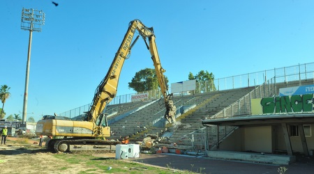 הריסתו של אצטדיון קריית אליעזר (עמרי שטיין)