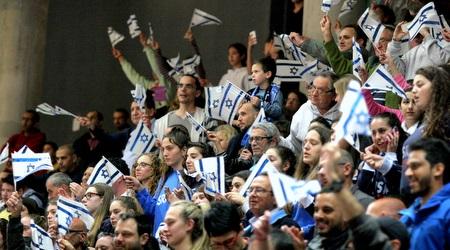 קהל נבחרת ישראל. היה שותף לחגיגה (משה חרמון)