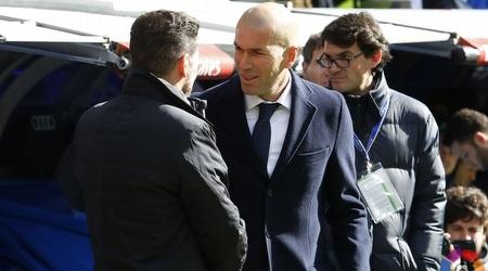 זינדין זידאן ודייגו סימאונה (La Liga)