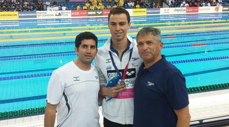 טומרקין עם ליאוניד קאופמן ולירן וקנין (איגוד השחייה) (מערכת ONE)