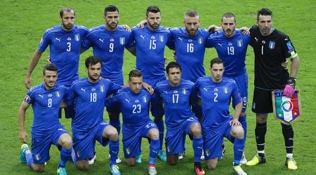 שחקני נבחרת איטליה. בופון בכל זאת יטוס לרוסיה עם החברים? (רויטרס)