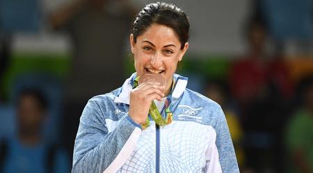 ירדן ג'רבי והמדליה האולימפית מריו 2016 (עמית שיסל)