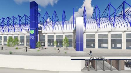 החזית החדשה של אצטדיון טדי (מיכאל מיכאל)