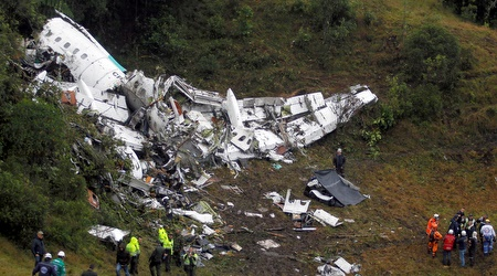המטוס שהתרסק. טרגדיה (רויטרס)