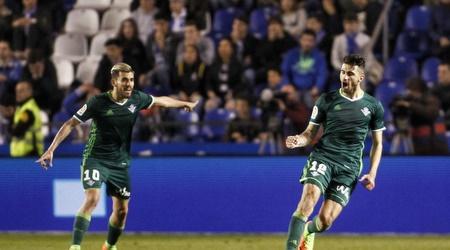 כריסטיאנו פיצ'יני חוגג במדי בטיס, בדרך חזרה לספרד (La Liga)